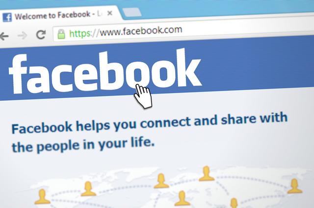 připojení na fb