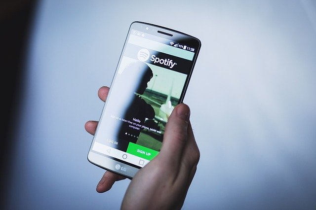 Spotify na mobilu