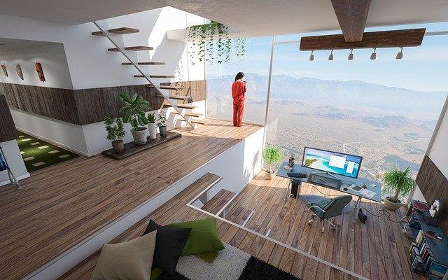 interiér místnosti